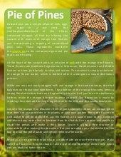 Pie of pines