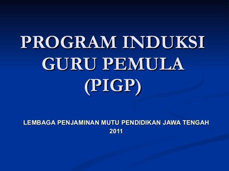 Program Induksi Guru Pemula