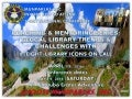 Pinatubo April summer conference: Coaching & Mentoring Series: Glocal Library Trends & Challenges with 8 Library Icons on Call