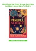 eBook Download Pinball Science: Everything that Matters About Matter Full Online