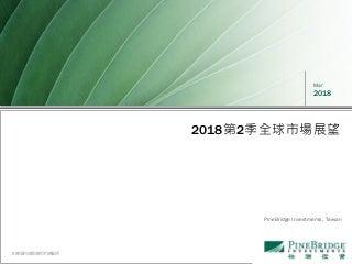 柏瑞投信-2018 Q2 市場展望