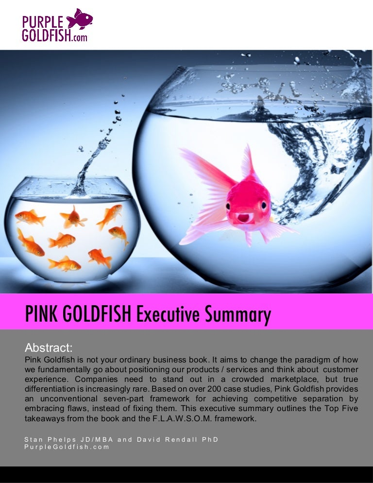 Less Cow More Cowbell In Business The Pink Goldfish Book Executive
