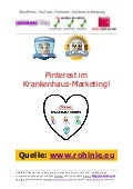 Pinterest im Krankenhaus-Marketing