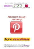 Pinterest im Beauty-Marketing