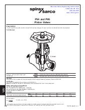 Piston Isolation Valves For Steam and Condensate