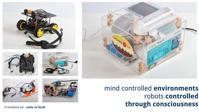 Mind controlled robots [mindhack.me]