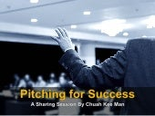 Pitching for Success: Quick Tips