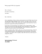 Pitch Letter Sample