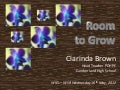 Room to Grow PK  - WIEL 16/5/12