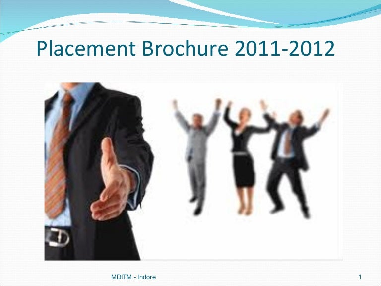 Placement Brochure 2011 2012