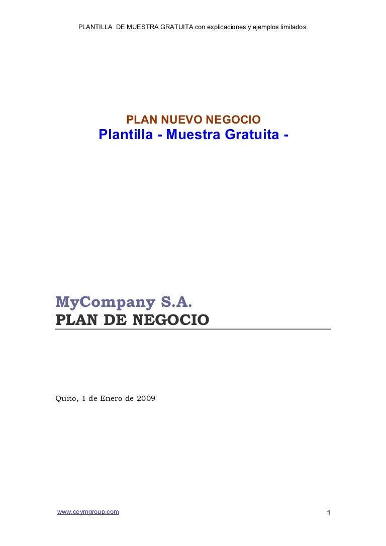 Plan de-negocios-plantilla