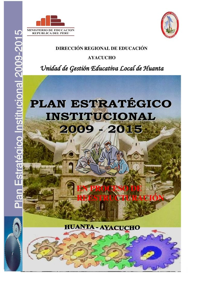 Plan estrategico-institucional-2009-2015-ugel-huanta