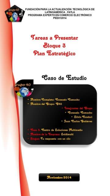 Plan consuelo camacho pdf