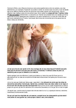 Plan Cul Gratuit Le Guide Des Rencontres Sexe Facile