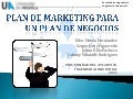 Plan de marketing en un plan de negocios