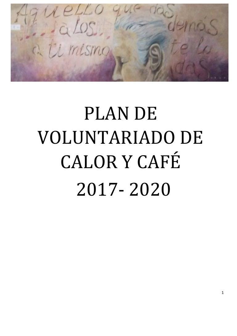 Plan de voluntariado Calor y Café