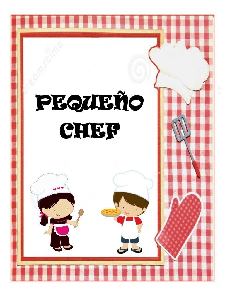 Planeaci n de preescolar peque o chef for Elementos de cocina para chef
