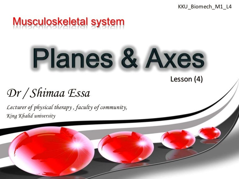 Planes Axes