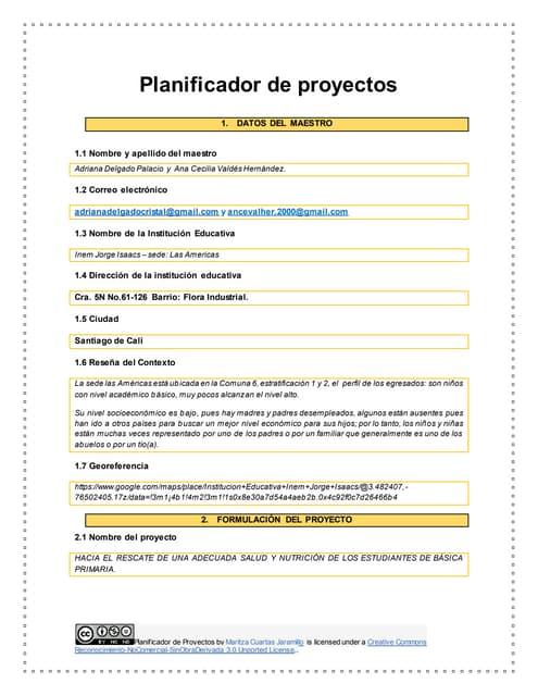 Planificador de proyectos   1