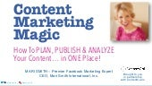Content Marketing Magic with Mari Smith and ContentCal.io