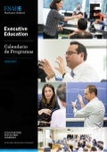 Executive Education - Calendario de Programas