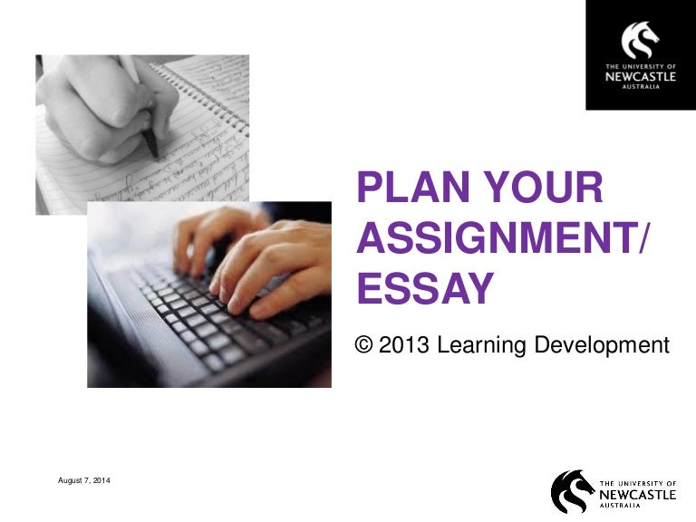 planning your assignment or essay