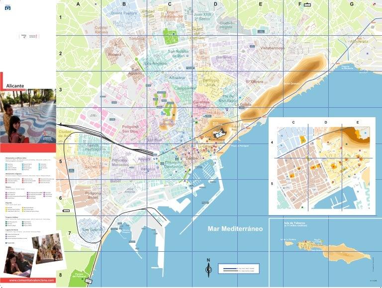 Plano Alicante