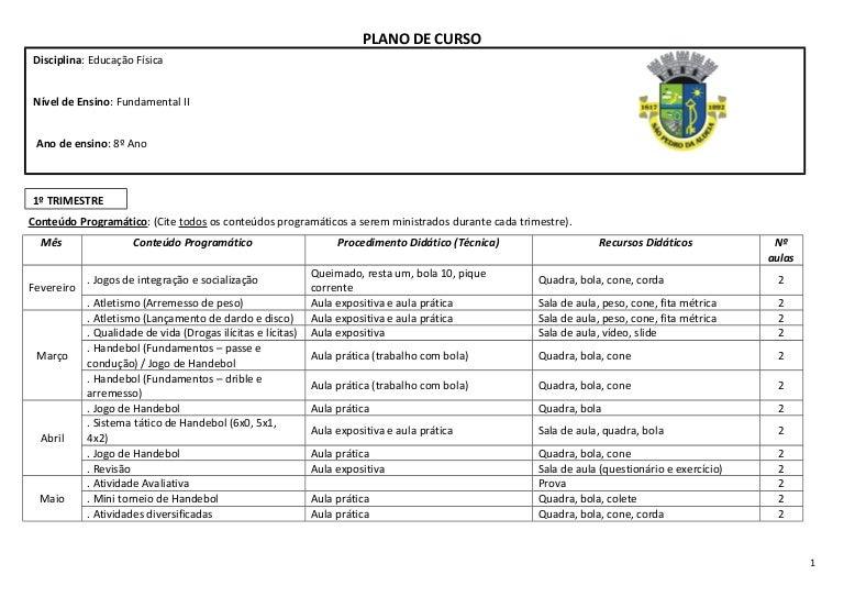 c81bd9bcf6 Tag  Plano De Aula Ensino Fundamental 1 Educação Fisica Futsal