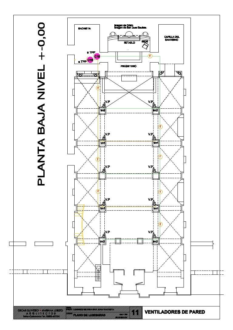 Circuito Ventilador : Plano nu b circuito ventiladores de pared