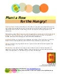 Plant a Row for the Hungry - Food Depot Food Bank, New Mexico