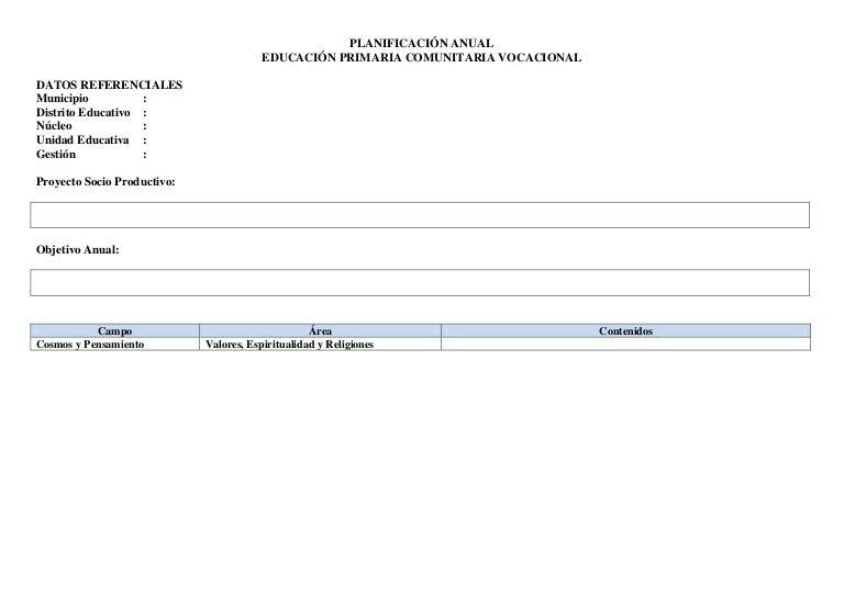 PRIMARIA, FORMATO PARA: PSP, PLAN ANUAL, BIMESTRAL Y DE CLASE