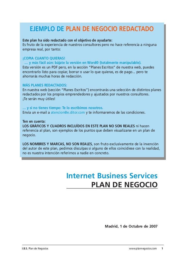 Plantillas plan-negocio