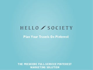 Plan Your Travels On Pinterest