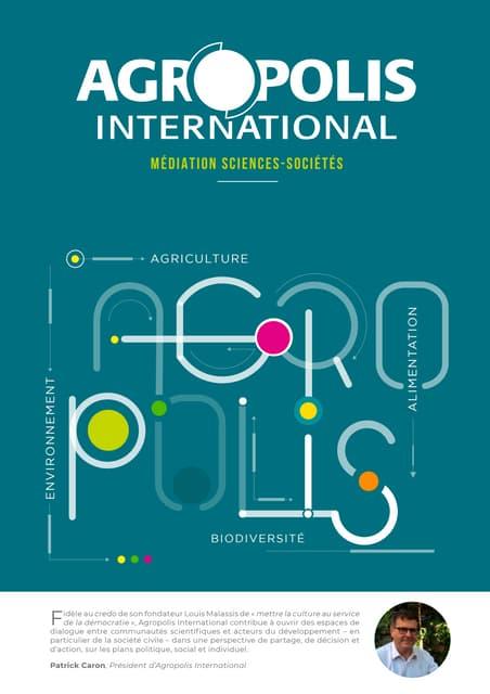 Plaquette Agropolis International (juin 2020)