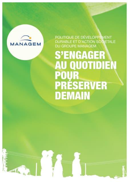 Développement durable chez Groupe Managem