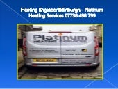 Edinburgh Gas Engineers - Platinum Heating Services 07738 498 799