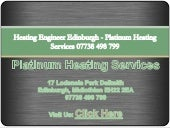 Central Heating Engineers Edinburgh - Platinum Heating Services 07738 498 799