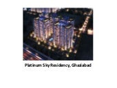 Furnished Apartments in Ghaziabad | Platinum Sky Residency Ghaziabad