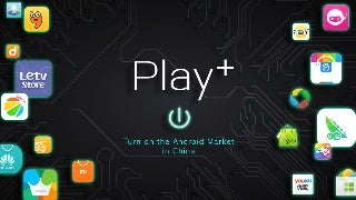 Play+ - Turn on the Android Market in China