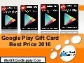 Google Play Gift Card Best Price 2016