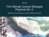 How to Staff and Launch Your Content Marketing Program