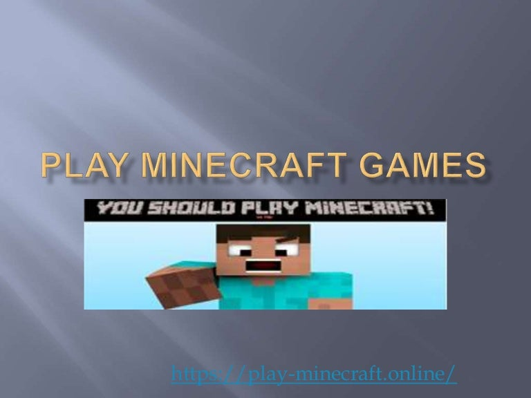Play Minecraft Games Online Free