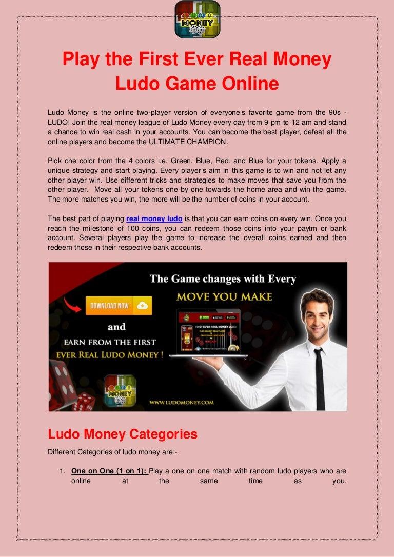 Ludo Win Paytm Cash