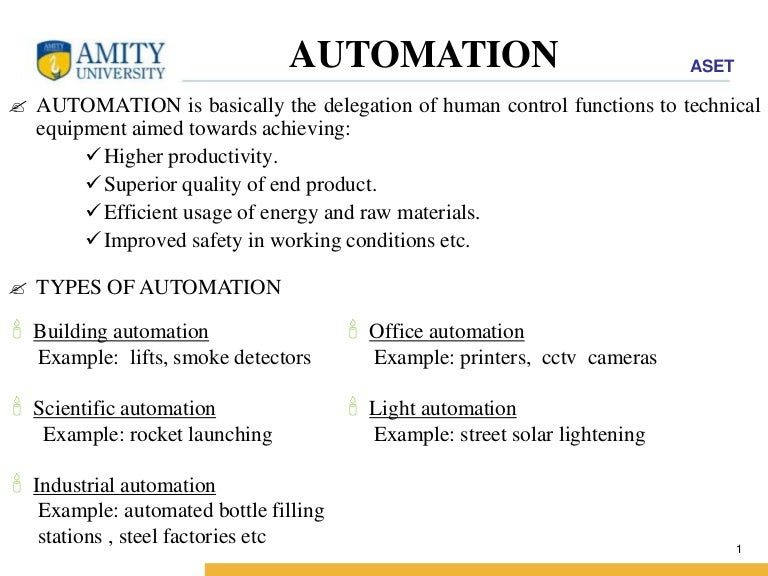 Automation Ppt Slides Automation Powerpoint Template