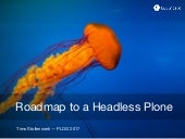 Roadmap to a Headless Plone