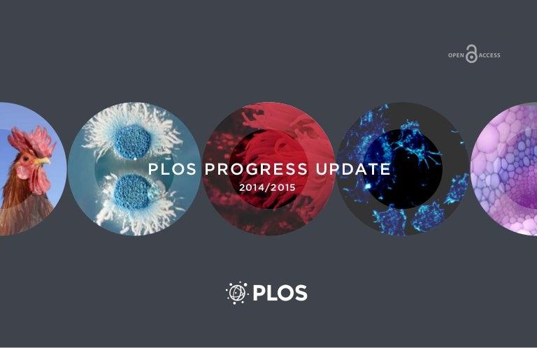 PLOS: Public Library Of Science Progress Update