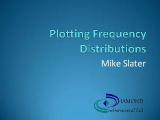 Plotting Frequency Distributions