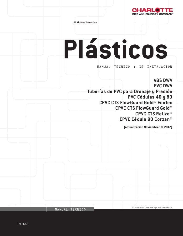 Plásticos manual tecnico y de instalaciones