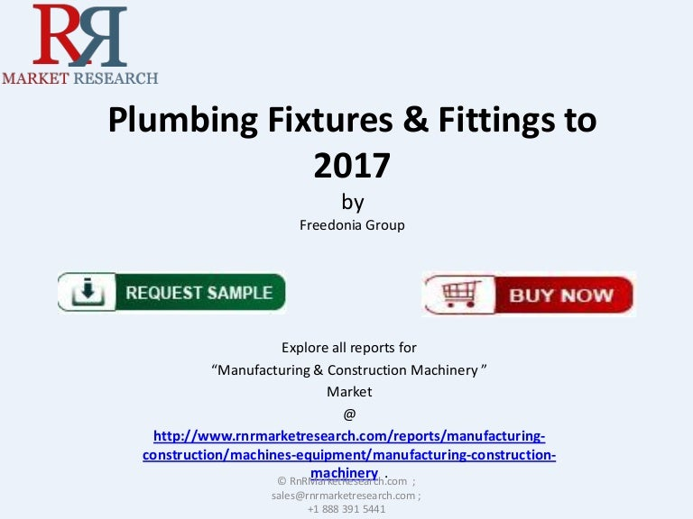 Plumbing Fixtures Fittings Industry 2017