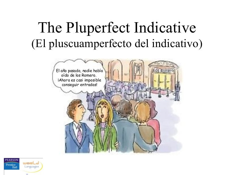 Image Result For When To Use Pluscuamperfecto